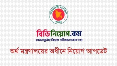 Photo of Ministry of Finance (MOF) Exam Result 2020