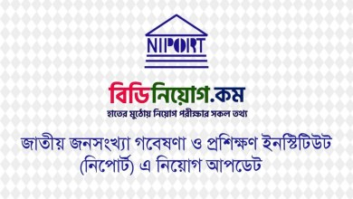 National Institute of Population Research and Training NIPORT