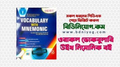 Oracle Vocabulary With Mnemonic Book PDF
