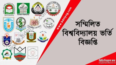 Combined Universities Admission Circular