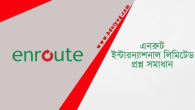 Enroute International Limited Question Solution