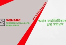 SQUARE Pharmaceuticals Limited Question Solution