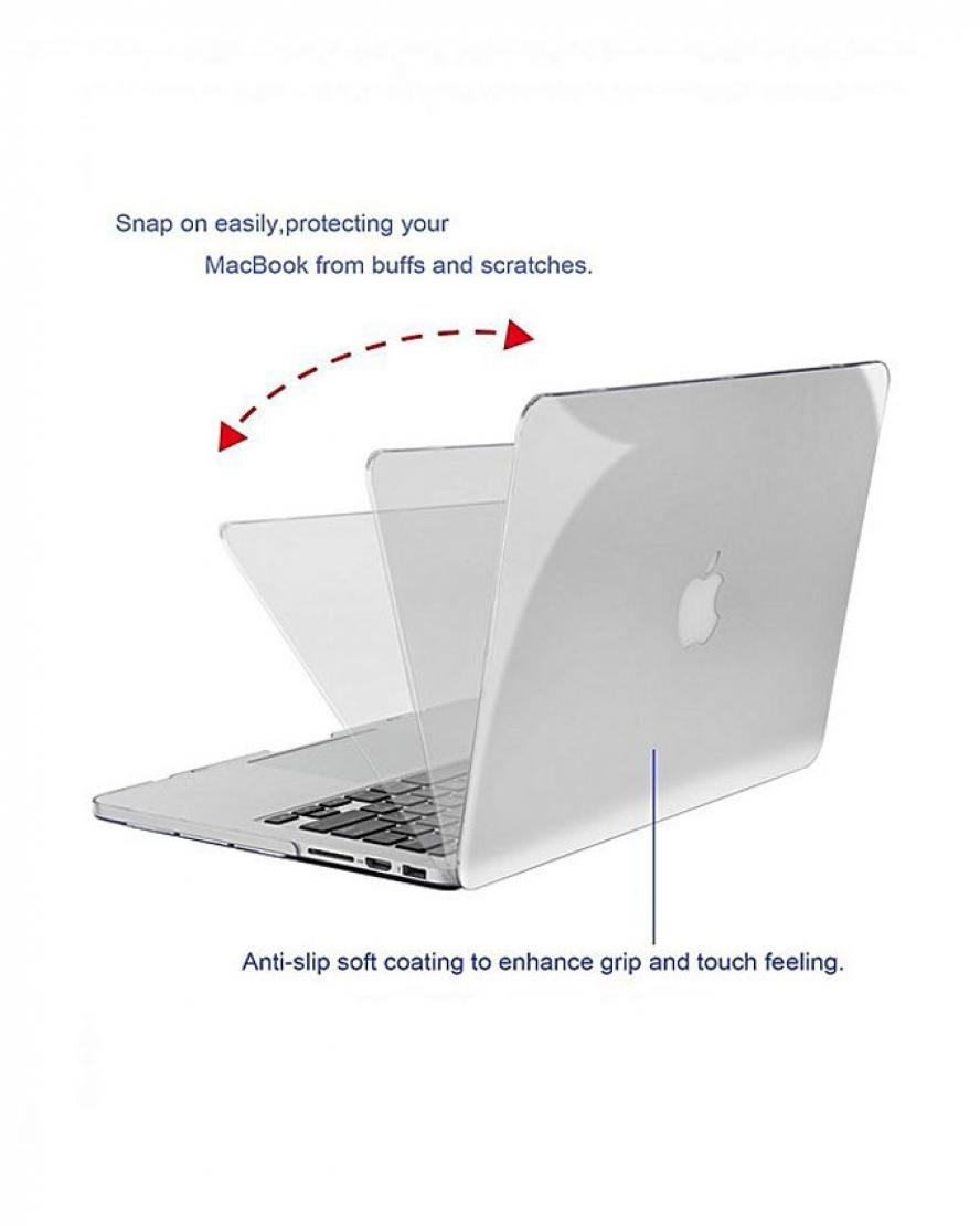 1528098213 Macbook Pro A1502 Hard Shell Case 13inch Retina - Transparent