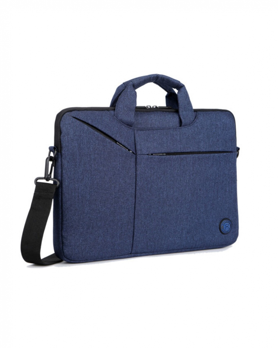 1528197845 Brinch BW-235 Bag For Laptop And Macbook 15 Inch - Blue