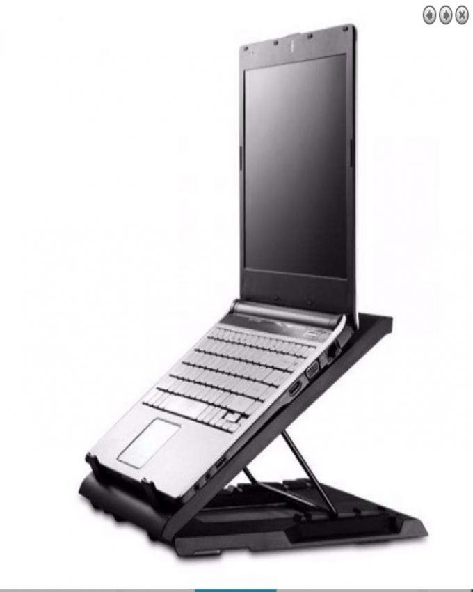 1558952118 Ergostand Cooling Pad M25 - Black
