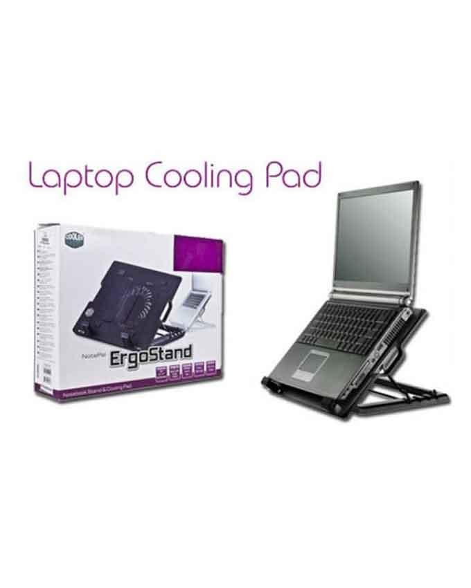 1558952134 Ergostand Cooling Pad M25 - Black