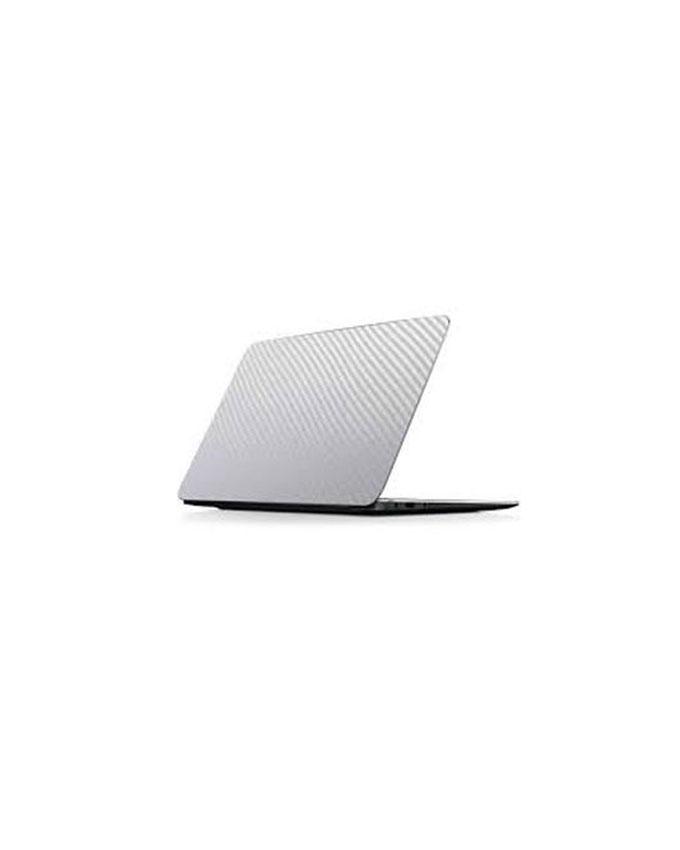 Laptop Back Protector Carbon Fiber Transparent Texture