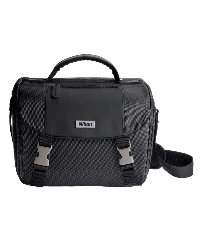 Nikon Camera Bag 1 1 Nikon Deluxe Digital DSLR Camera Gadget Accessories Bag - Grey