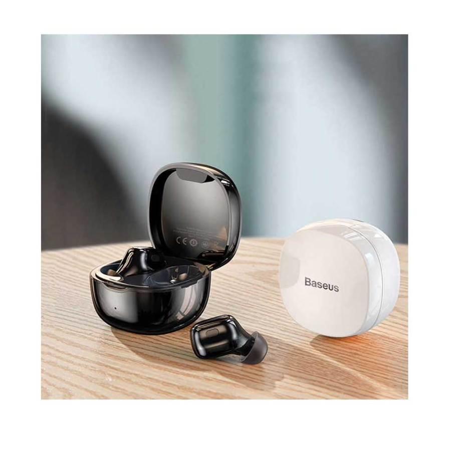 BASEUS NGWM01 01 ENCOK TWIN WIRELESS EARPHONE WITH CHARGING DOCK Bdonix 2 Baseus Encok W01