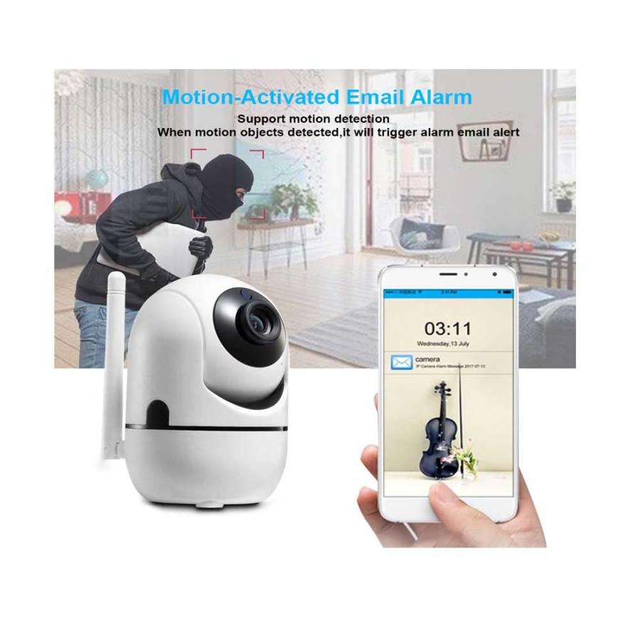 IP WIRLESS 3D TRACKING MINI CAMERA Y4C ZA 2MP HD 1080P 1 IP Wireless 3D Tracking Mini Camera Y4C-ZA 2MP HD 1080P