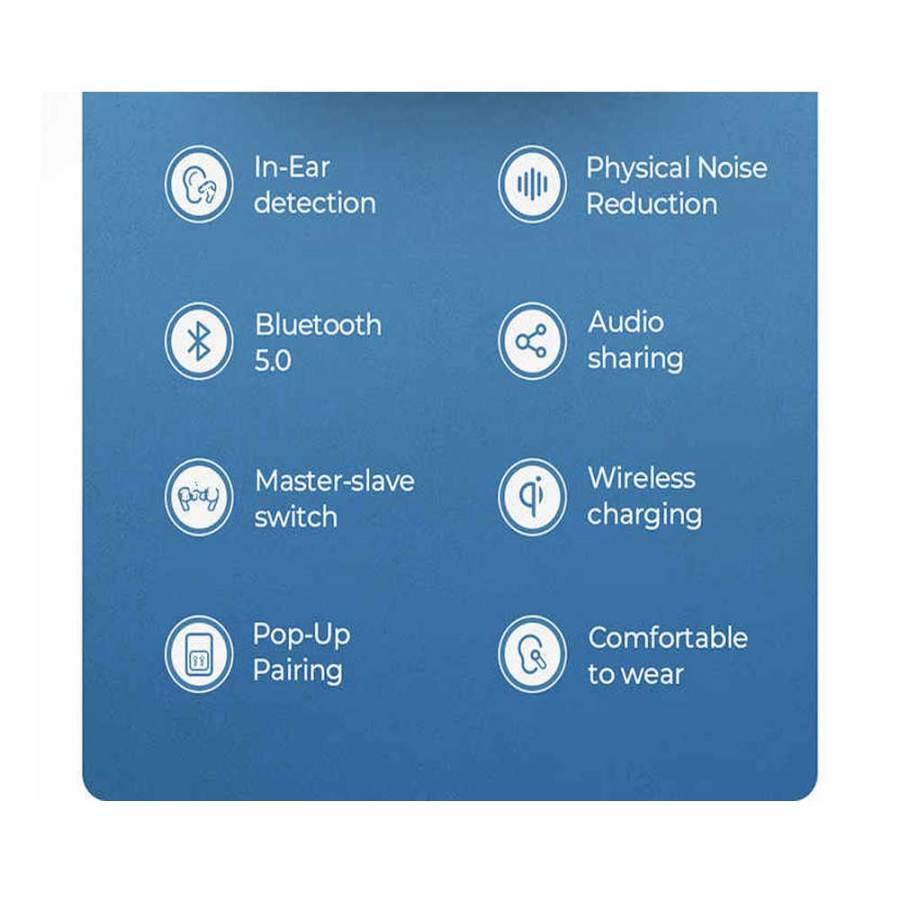 JOYROOM ANC PRO JR T03 TWS NOISE CANCELLATION WIRELESS EARBUDS Bdonix 3 Joyroom T03 Pro TWS
