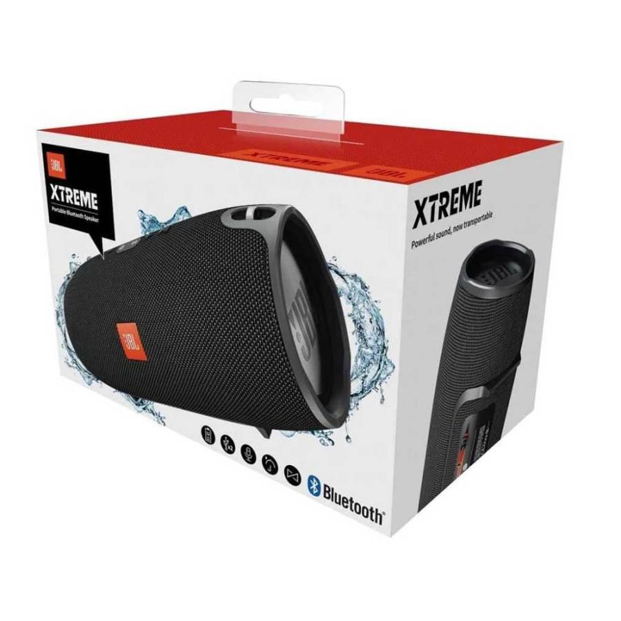 jbl xtreme splashproof bluetooth speaker with powerful sound 4 bdonix 2 JBL Xtreme Bluetooth Speaker With Powerful Sound - Black