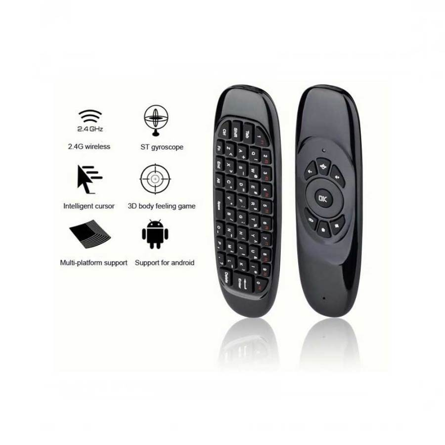 Air Mouse C120 For Android And Smart TV 3 1 Air Mouse C120 Voice 2.4G Mini Keyboard for Android Smart TV Box