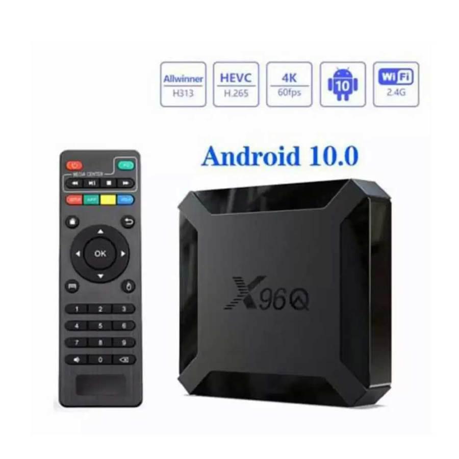 bDonix Smart Box X96Q Mini Quad Core 2GB16GB 4K 60FPS Android 10V 2 Smart Box X96Q Mini Quad Core 2GB+16GB 4K 60FPS Android 10V