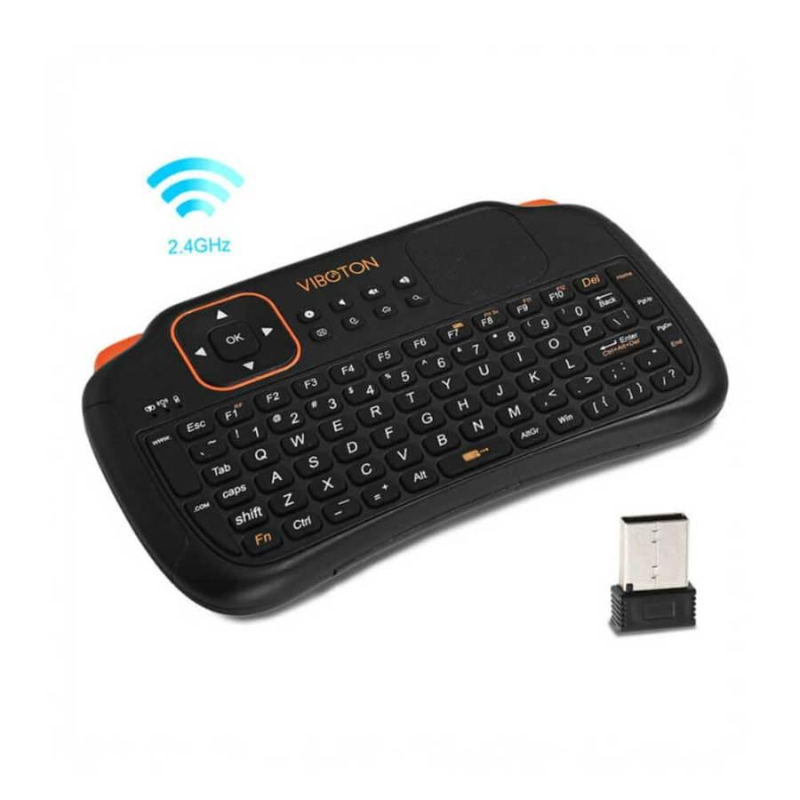 Viboton TouchPad Mini Wireless Keyboard Mouse S1