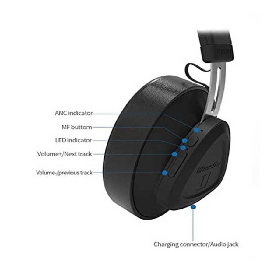 bDonix Bbluedio T Monitor Bluetooth Wireless Headphone 5 Bluedio Turbine T Monitor with Microphone Studio Headset