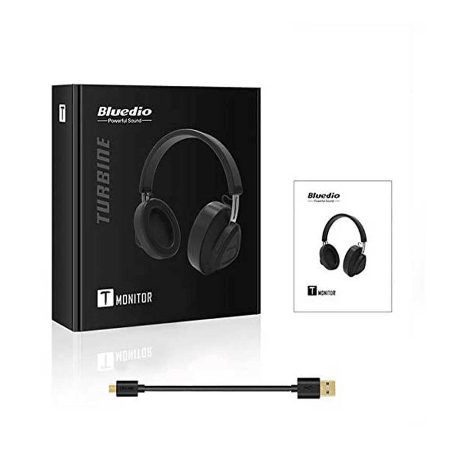 bDonix Bbluedio T Monitor Bluetooth Wireless Headphone 7 Bluedio Turbine T Monitor with Microphone Studio Headset