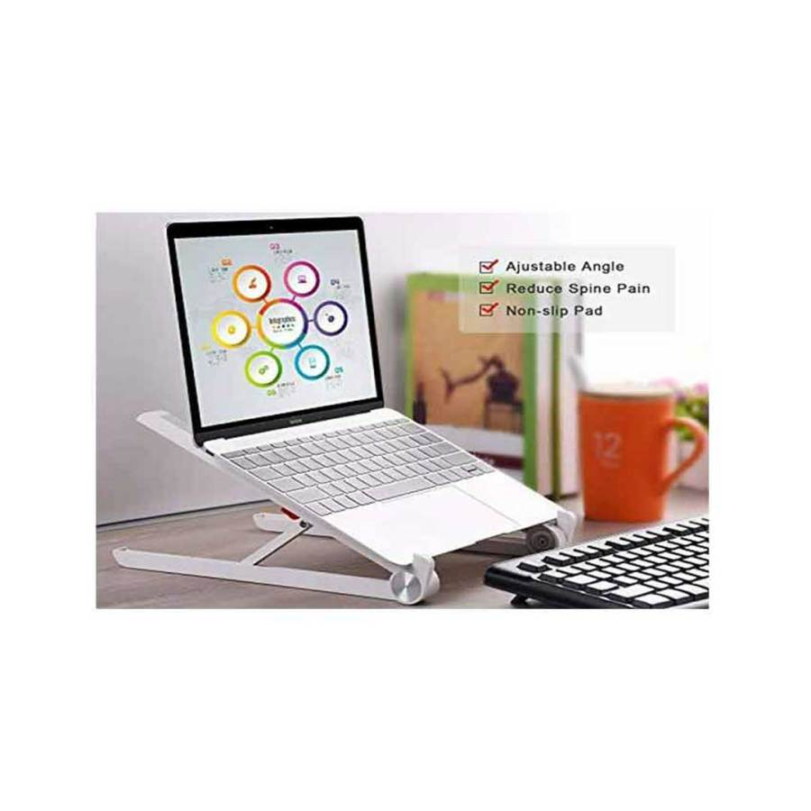 bDonix Adjustable Latpop Stand 3 Adjustable Portable Desktop Laptop Stand