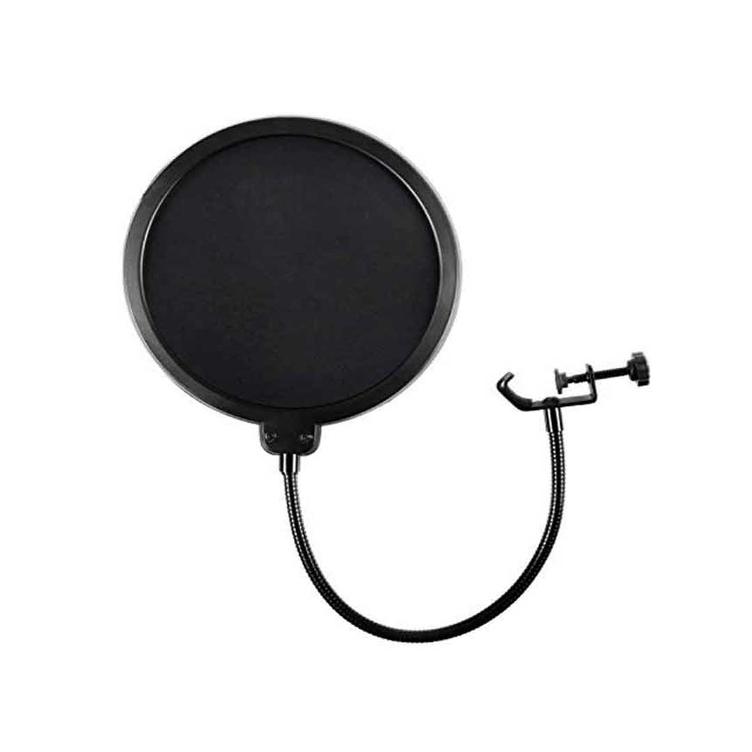 bdonix Pop Filter For Microphone 3 Pop Filter For Any Microphone With Flexible 360 Clip Stabilizing Arm