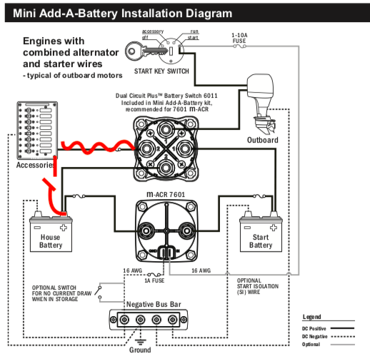 blue sea systems addabattery wiring question  bloodydecks