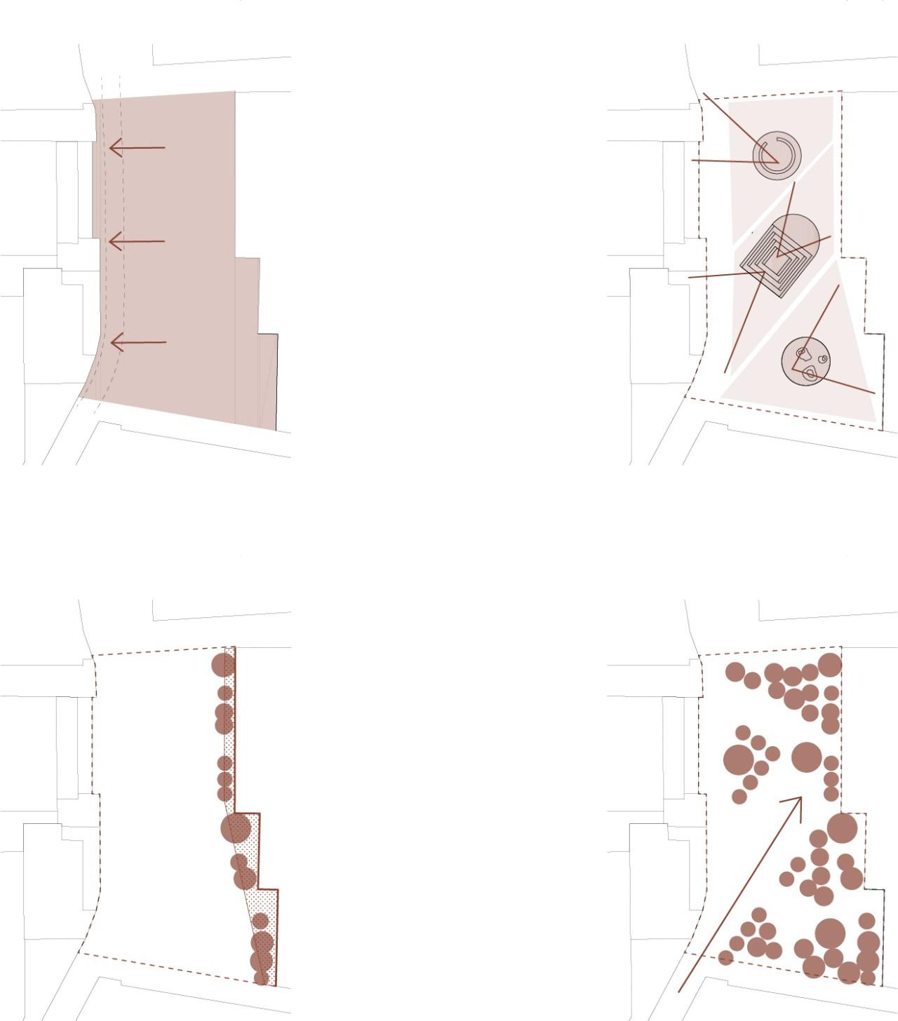 BDRbureau_Trittico-una-piazza-tre-spazi-public-space-refurbishment_schema