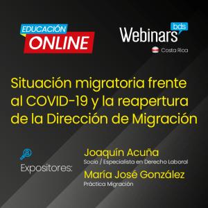 Situación migratoria frente al COVID -19 y la reapertura de la Dirección de Migración