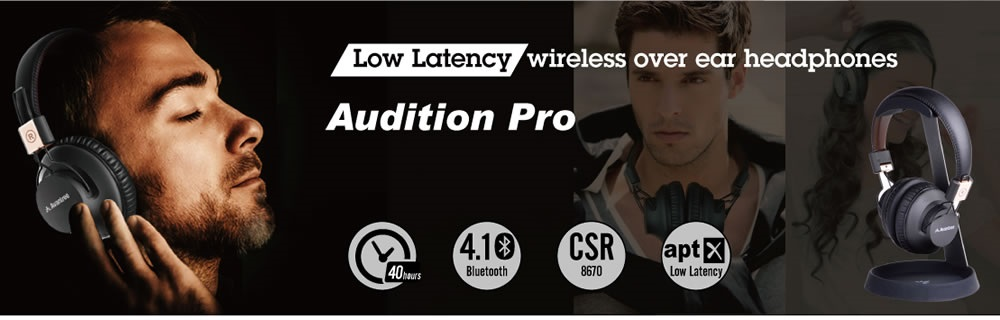 casti audio bluetooth avantree audition pro aptx LL