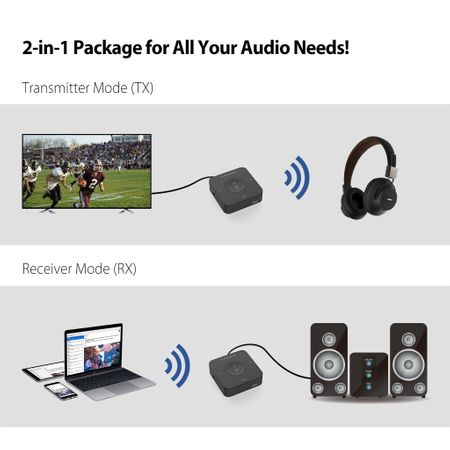 Adaptor Bluetooth Avantree TC417, Negru