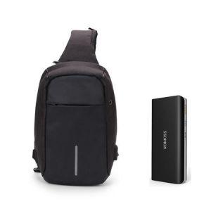 Pachet Solo 5 10000 mAh & mini Rucsac port USB