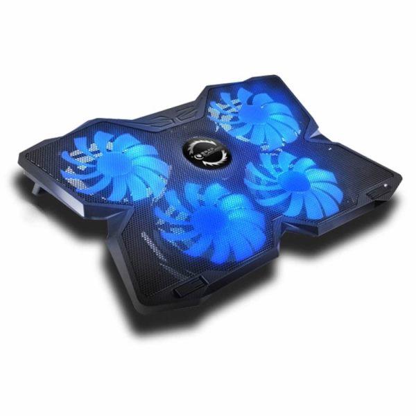 """Vine vara - raceste-ti laptopul! Cooler pad pentru laptop de maxim 17"""", 4x ventilatoare l"""