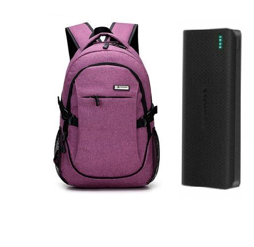 Pachet Sense15 |15k mAh & rucsac laptop port USB extern