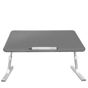 Masuta laptop multifunctionala MyTable 52x30x0.9 cm, Gri
