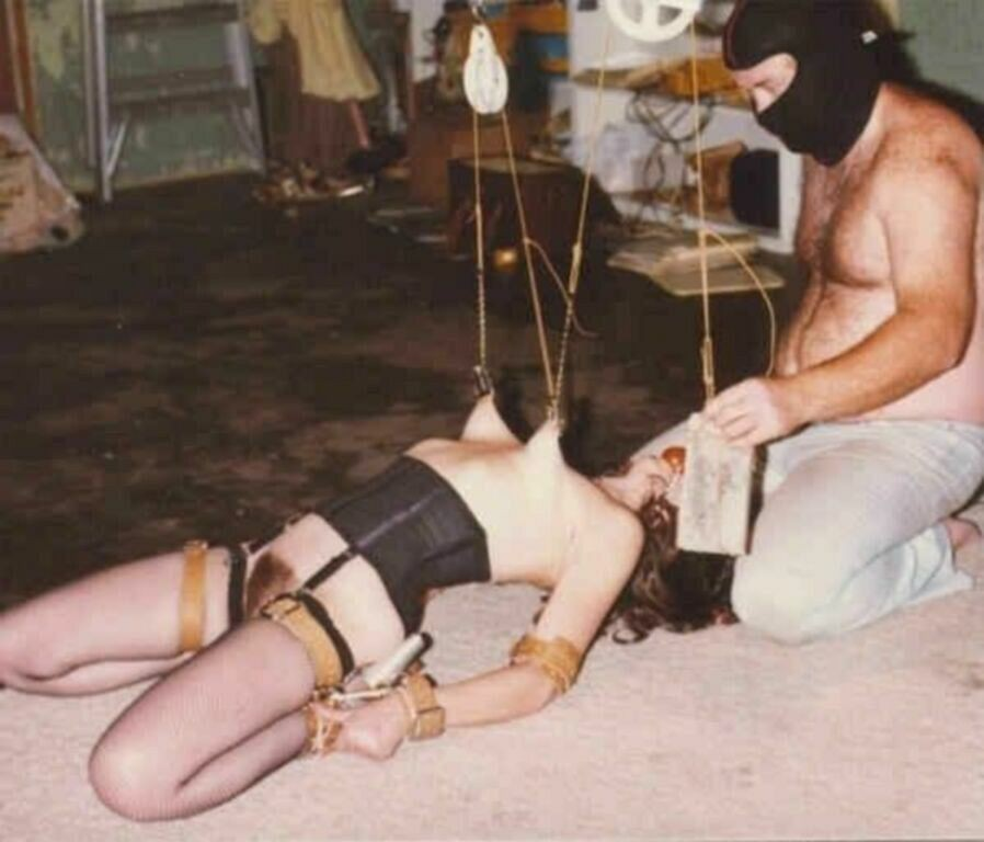 Nipple Stretching Torture-6826