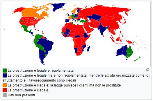 sex worker e prostituzione nel mondo
