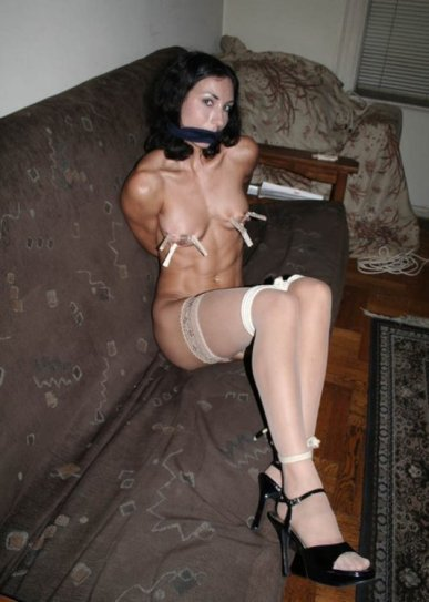 Beautiful Girlfriend Stripped, Bound and Punished