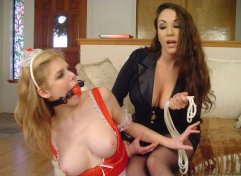 Jewell Marceau Spanks and Whips Her Hot Young Maid