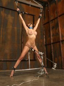 Layla Rivera Restrained, Spread and Penetrated Hard
