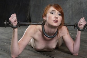 Kendra James Penetrated and Humiliated in Hard Device Bondage
