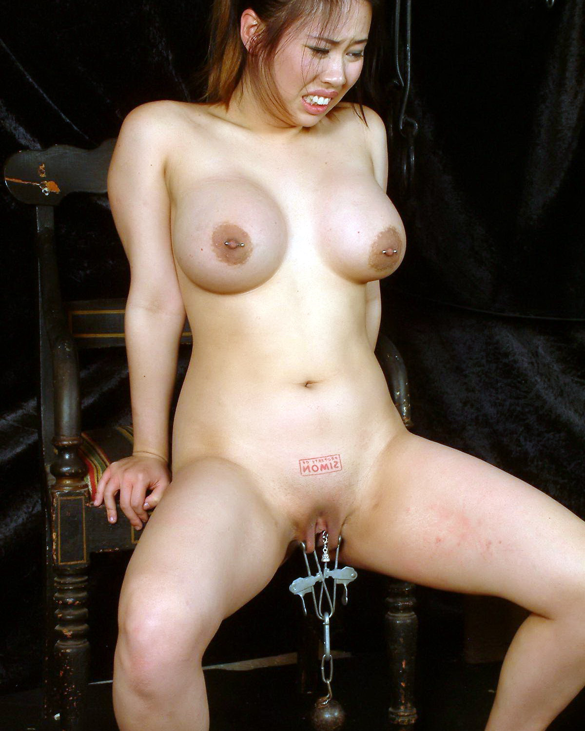 Bdsm xxx slave girl with massive breasts gets it hard 9