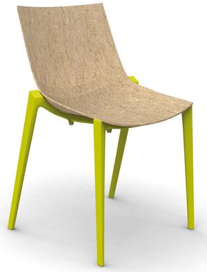 Cadeira Zartan, de Philip Starck e Eugeni Quitlle para Magis, levada ao Salão de Milão 2011