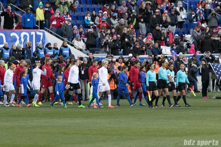 Team USA walks out