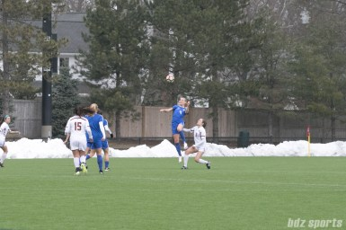 March 25, 2017 - Boston Breakers vs Boston College [Credit info: Amy Pearson]