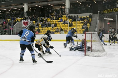 Pride Brianna Decker scores against the Beauts