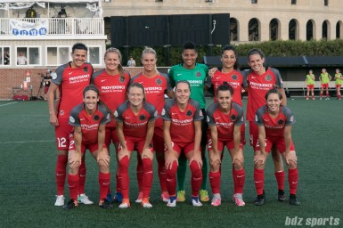 Portland Thorns starting XI.