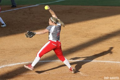 Scrap Yard Dawgs pitcher Rachel Fox (8)