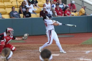 USSSA Pride designated hitter Lauren Chamberlain (44) at bat