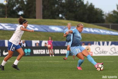 Sky Blue FC midfielder Madison Tiernan (73)
