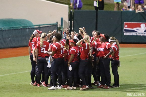 The Scrap Yard Dawgs after the NPF Championship Final Game 1
