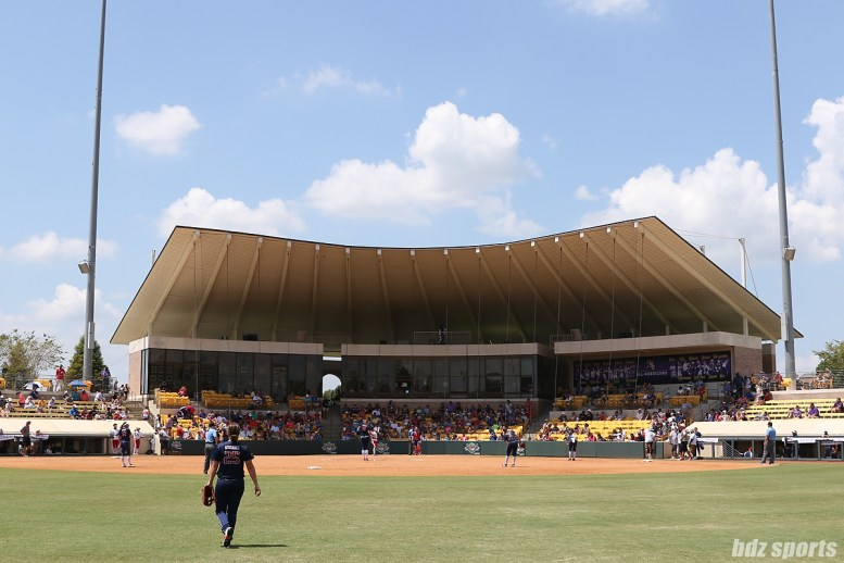 A view of LSU Tiger Park which hosted the 2017 NPF Championship Series