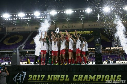 The Portland Thorns FC are the 2017 NWSL Champions